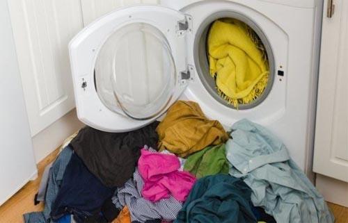 علت صدای زباد لباسشویی در دور خشک کن